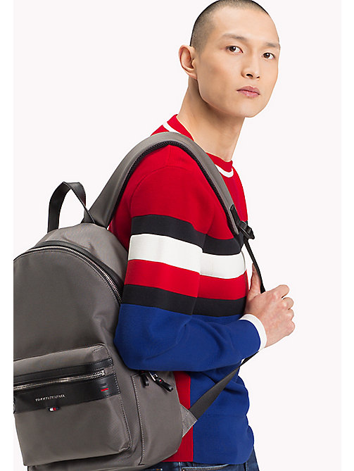 Lightweight Laptop Backpack - GREY - TOMMY HILFIGER Bags & Accessories - detail image 1