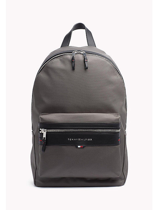 TOMMY HILFIGER Lightweight Laptop Backpack - GREY - TOMMY HILFIGER Bags & Accessories - main image