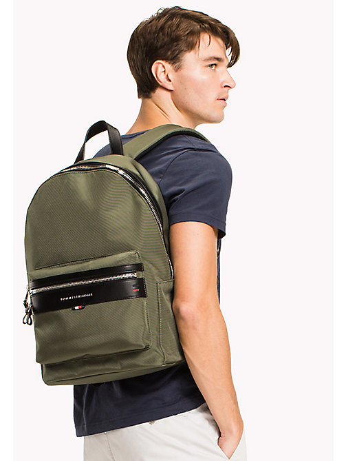 TOMMY HILFIGER Lightweight Laptop Backpack - FOUR LEAF CLOVER - TOMMY HILFIGER Bags & Accessories - detail image 1