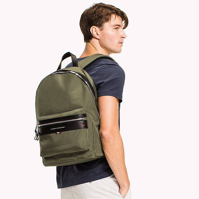 TOMMY HILFIGER Lightweight Laptop Backpack - GREY - TOMMY HILFIGER Bags & Accessories - detail image 3