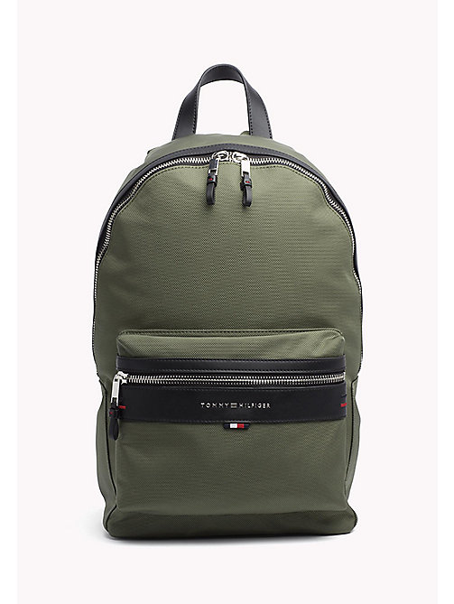 TOMMY HILFIGER Lightweight Laptop Backpack - FOUR LEAF CLOVER - TOMMY HILFIGER Bags & Accessories - main image