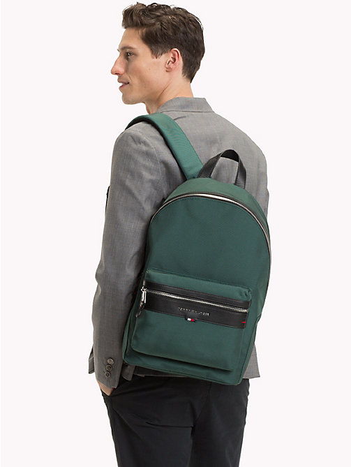 TOMMY HILFIGER Elevated Backpack - RAIN FOREST - TOMMY HILFIGER Backpacks - detail image 1