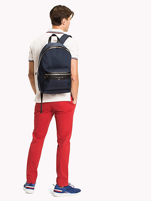 TOMMY HILFIGER Lightweight Laptop Backpack - TOMMY NAVY - TOMMY HILFIGER Backpacks - detail image 1