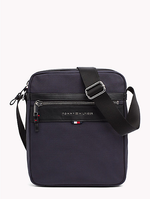 TOMMY HILFIGER Elevated Reporter Bag - TOMMY NAVY - TOMMY HILFIGER Crossbody Bags - main image