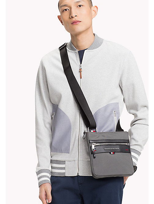 TOMMY HILFIGER Lightweight Cross Body Bag - GREY - TOMMY HILFIGER Crossbody Bags - detail image 1