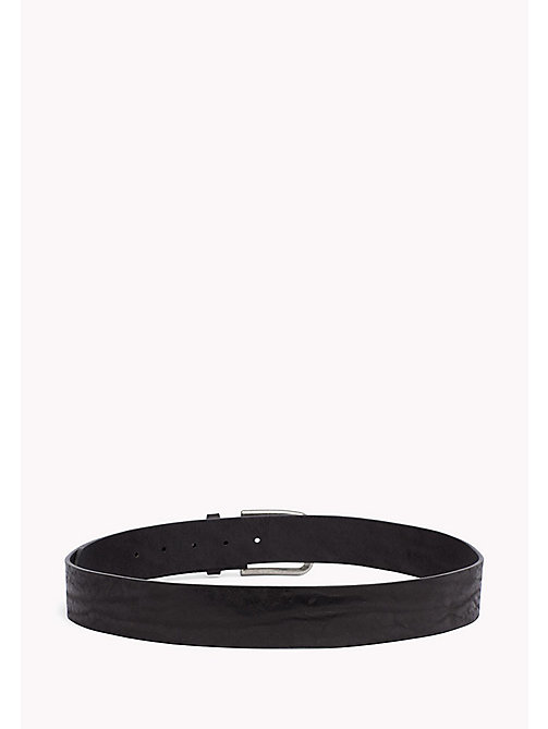 TOMMY JEANS Leather Belt - BLACK - TOMMY JEANS Tommy Jeans Shoes & Accessories - detail image 1