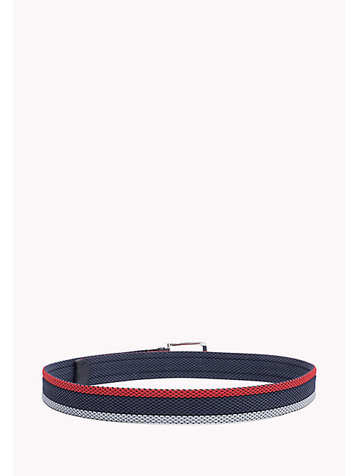 TOMMY HILFIGER Reversible Braided Belt - CORPORATE CLRS & NAVY -  Belts - detail image 1