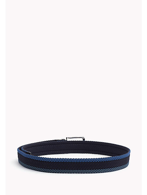 TOMMY HILFIGER Reversible Braided Belt - BLUE MIX & BLUE - TOMMY HILFIGER Belts - detail image 1