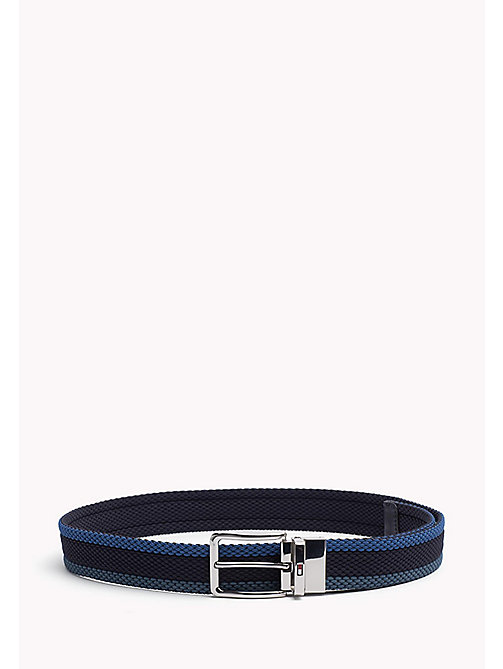 TOMMY HILFIGER Reversible Braided Belt - BLUE MIX & BLUE - TOMMY HILFIGER Belts - main image