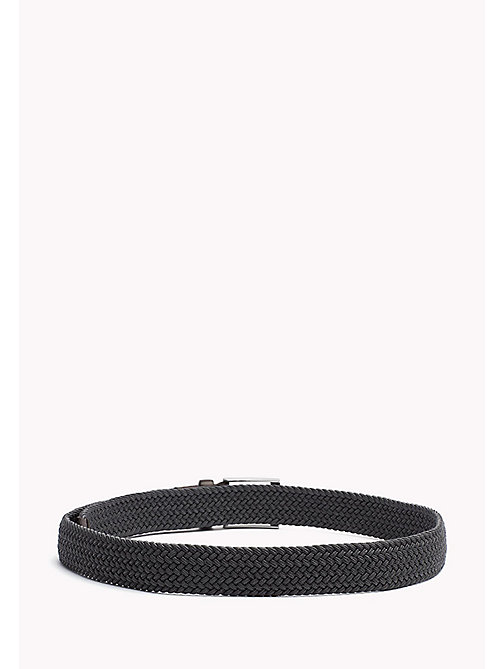 TOMMY HILFIGER Braided Belt - GREY MELANGE -  Belts - detail image 1