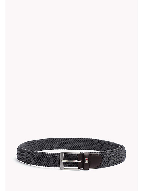 TOMMY HILFIGER Braided Belt - GREY MELANGE - TOMMY HILFIGER Belts - main image