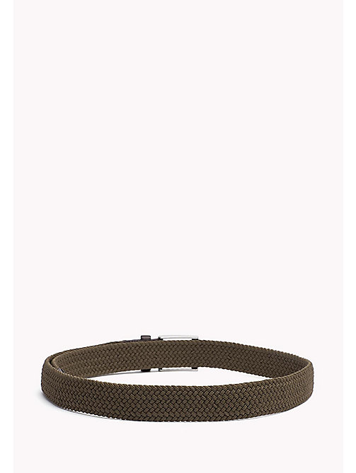 TOMMY HILFIGER Braided Belt - KHAKI - TOMMY HILFIGER Belts - detail image 1