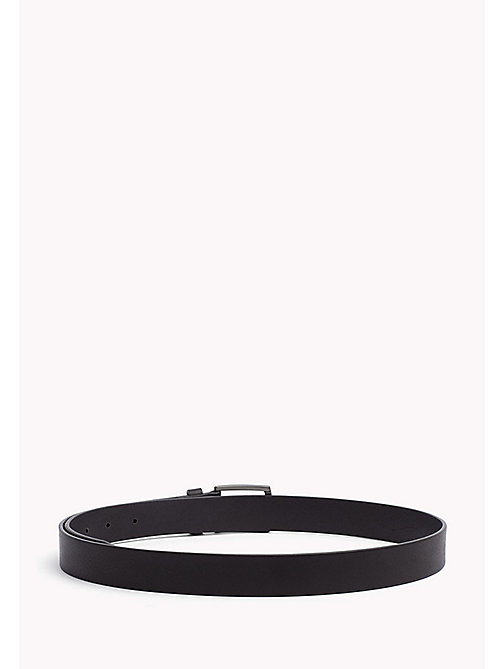 TOMMY HILFIGER Leather Belt - BLACK -  Belts - detail image 1