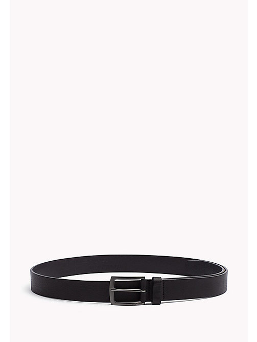 TOMMY HILFIGER Leather Belt - BLACK -  Belts - main image