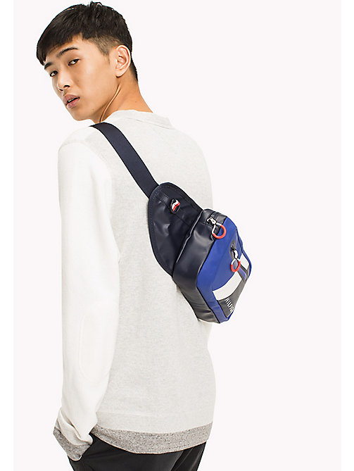 TOMMY HILFIGER Water Resistant Crossover Bag - TOMMY NAVY - TOMMY HILFIGER Bags & Accessories - detail image 1
