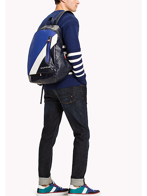 TOMMY HILFIGER Water Resistant Backpack - TOMMY NAVY - TOMMY HILFIGER Bags - detail image 1