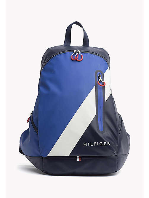 TOMMY HILFIGER Water Resistant Backpack - TOMMY NAVY - TOMMY HILFIGER Bags - main image