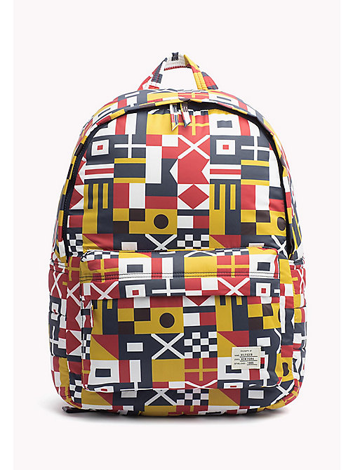 TOMMY HILFIGER Semaphore Backpack - SEMAPHORE FLAG - TOMMY HILFIGER Bags - main image