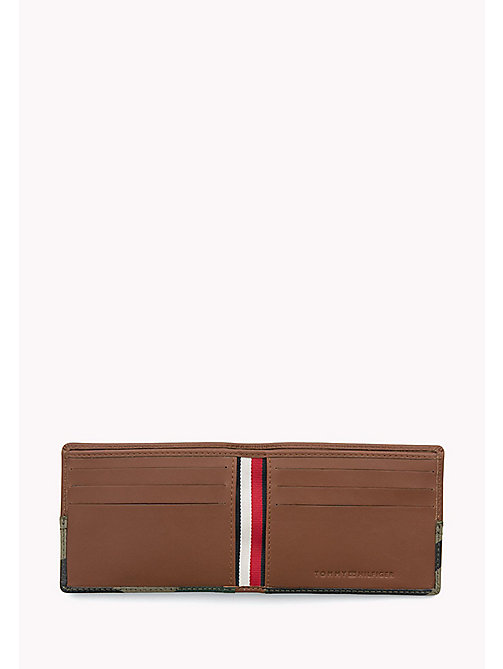 TOMMY HILFIGER Camo Leather Wallet - COGNAC / CAMO - TOMMY HILFIGER Bags & Accessories - detail image 1
