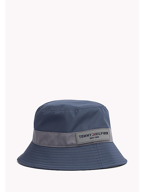 TOMMY HILFIGER Water Resistant Bucket Hat - SKY CAPTAIN - TOMMY HILFIGER Hats - main image