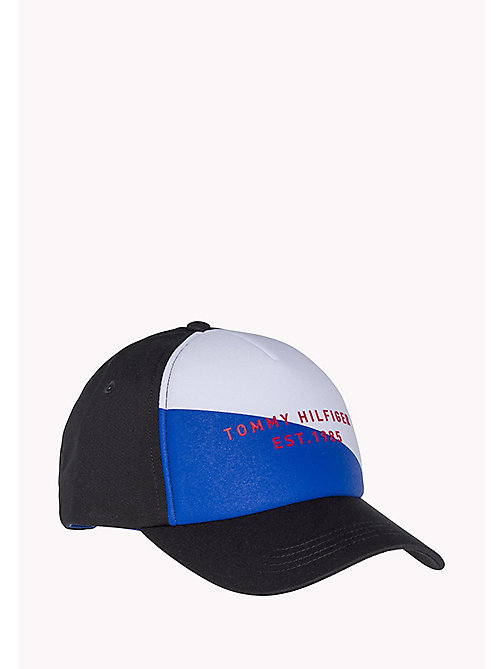 TOMMY HILFIGER Flag Baseball Cap - LIMONGES BLUE - TOMMY HILFIGER Hats & Scarves - main image