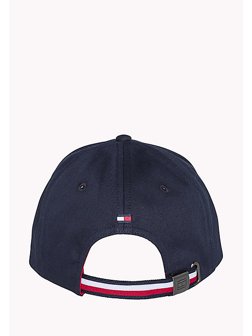 TOMMY HILFIGER Cotton Twill Flag Cap - SKY CAPTAIN - TOMMY HILFIGER Hats, Gloves &  Scarves - detail image 1