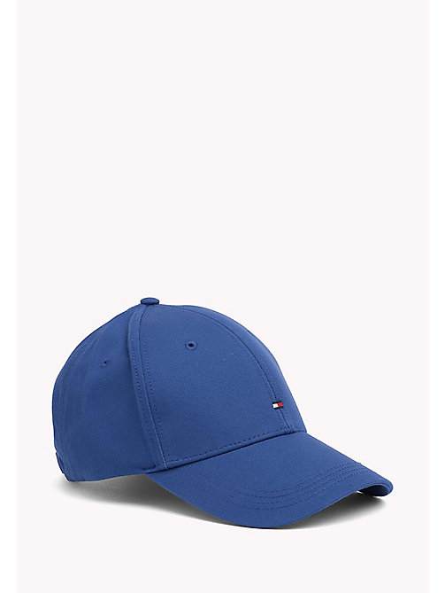 TOMMY HILFIGER Cotton Twill Baseball Cap - LIMOGES - TOMMY HILFIGER Hats - main image