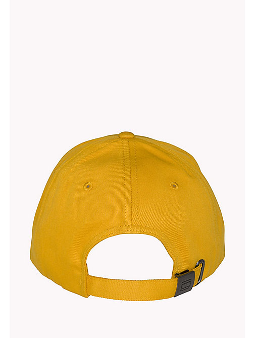 TOMMY HILFIGER Cotton Twill Baseball Cap - GOLDEN YELLOW - TOMMY HILFIGER Accessories - detail image 1