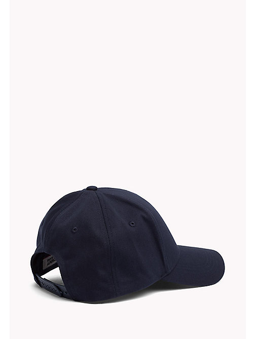 TOMMY JEANS Cotton Twill Baseball Cap - SKY CAPTAIN - TOMMY JEANS Accessories - detail image 1