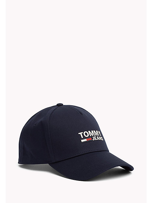 TOMMY JEANS Cotton Twill Baseball Cap - SKY CAPTAIN - TOMMY JEANS Accessories - main image