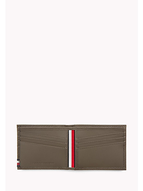 TOMMY HILFIGER Leather Mini Wallet - GREY - TOMMY HILFIGER Wallets & Keyrings - detail image 1