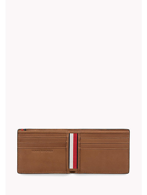 TOMMY HILFIGER Small Leather Wallet - COGNAC - TOMMY HILFIGER Wallets & Keyrings - detail image 1