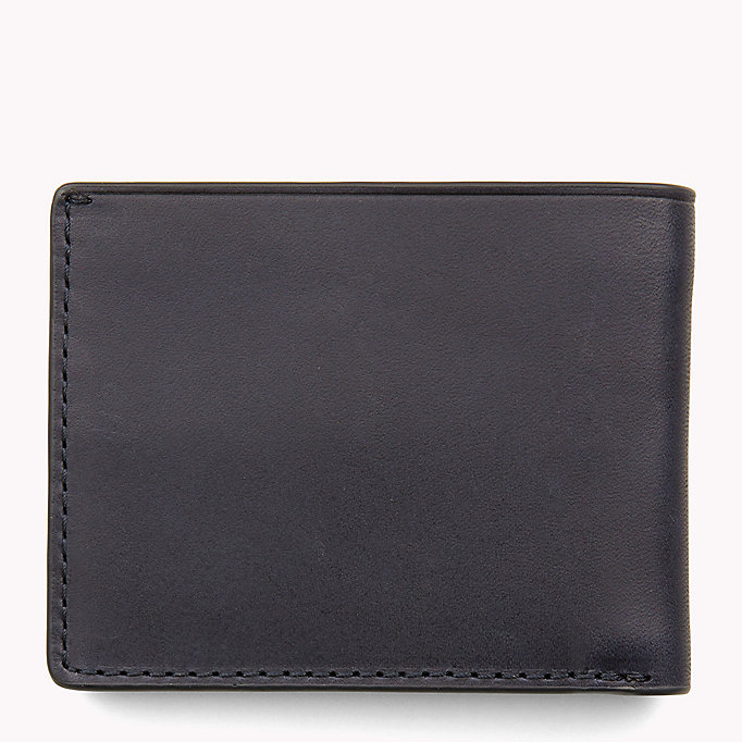 TOMMY HILFIGER Small Leather Wallet - COGNAC - TOMMY HILFIGER Men - detail image 1
