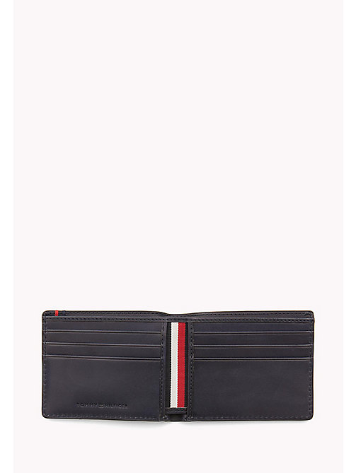 TOMMY HILFIGER Small Leather Wallet - TOMMY NAVY - TOMMY HILFIGER Portemonnees & sleutelhangers - detail image 1