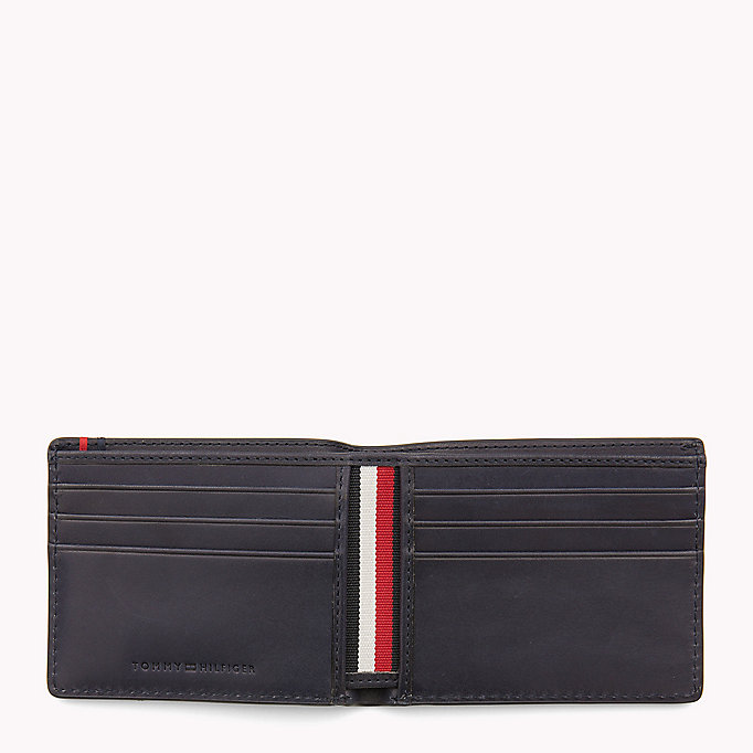 TOMMY HILFIGER Small Leather Wallet - COGNAC - TOMMY HILFIGER Bags & Accessories - detail image 2