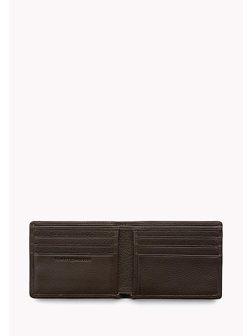 TOMMY HILFIGER Signature Stripe Leather Wallet - BROWN - TOMMY HILFIGER Portemonnees & sleutelhangers - detail image 1