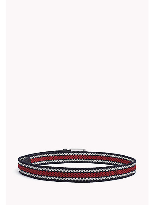 TOMMY HILFIGER Stripe Belt - CORPORATE CLRS - TOMMY HILFIGER Belts - detail image 1
