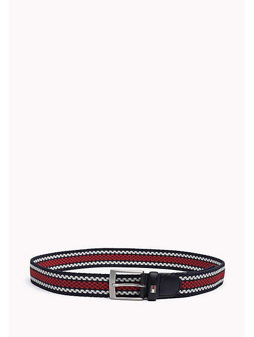 TOMMY HILFIGER Stripe Belt - CORPORATE CLRS - TOMMY HILFIGER Belts - main image