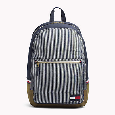 TOMMY HILFIGER  - RAILROAD STRIPE PRINT -   - main image