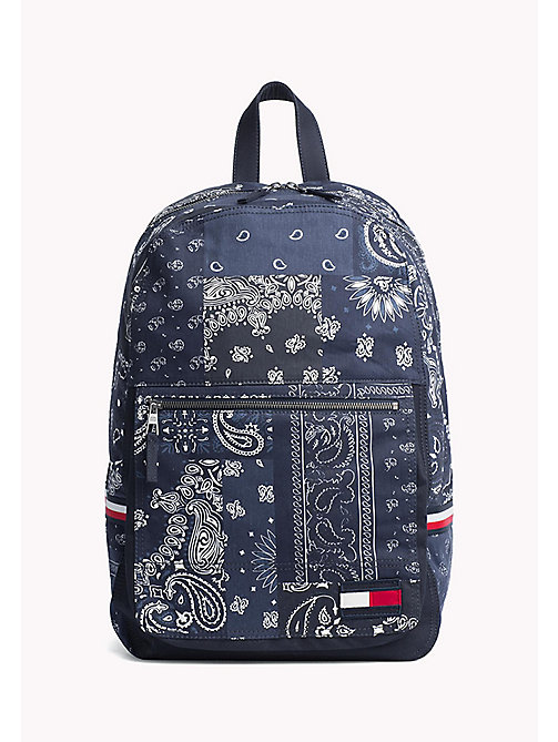 TOMMY HILFIGER Denim Bandana Print Backpack - BANDANA PRINT - TOMMY HILFIGER Test 4 - main image