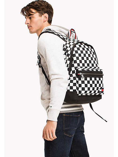TOMMY HILFIGER Chequered Flag Backpack - CHECKER PRINT - TOMMY HILFIGER Backpacks - detail image 1