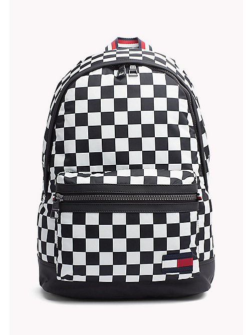 TOMMY HILFIGER Chequered Flag Backpack - CHECKER PRINT - TOMMY HILFIGER Backpacks - main image