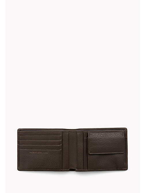TOMMY HILFIGER Textured Leather Wallet - BROWN - TOMMY HILFIGER Bags & Accessories - detail image 1