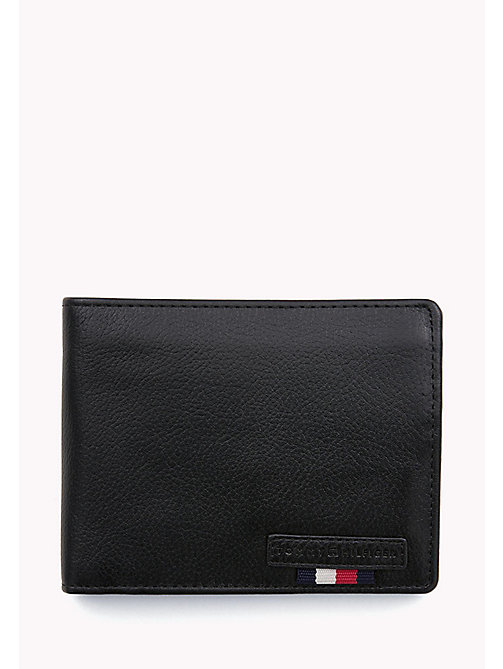 TOMMY HILFIGER Leather Wallet - BLACK - TOMMY HILFIGER Wallets & Keyrings - main image