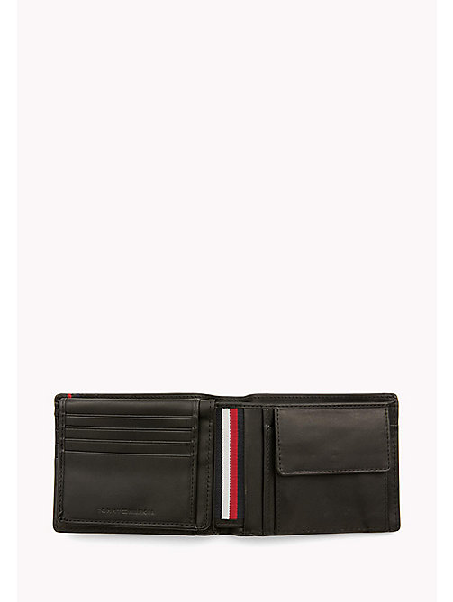 Heritage Leather Wallet - BLACK - TOMMY HILFIGER Bags & Accessories - detail image 1
