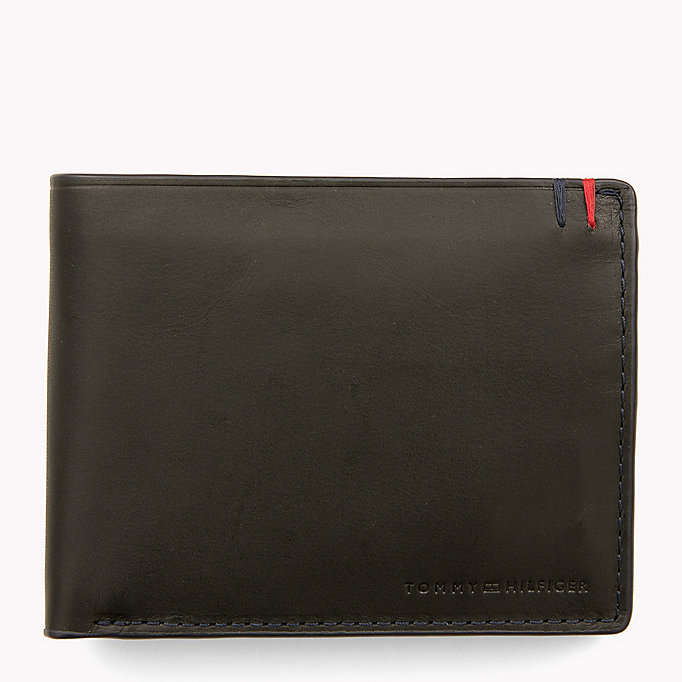 TOMMY HILFIGER Heritage Leather Wallet - COGNAC - TOMMY HILFIGER Bags & Accessories - main image