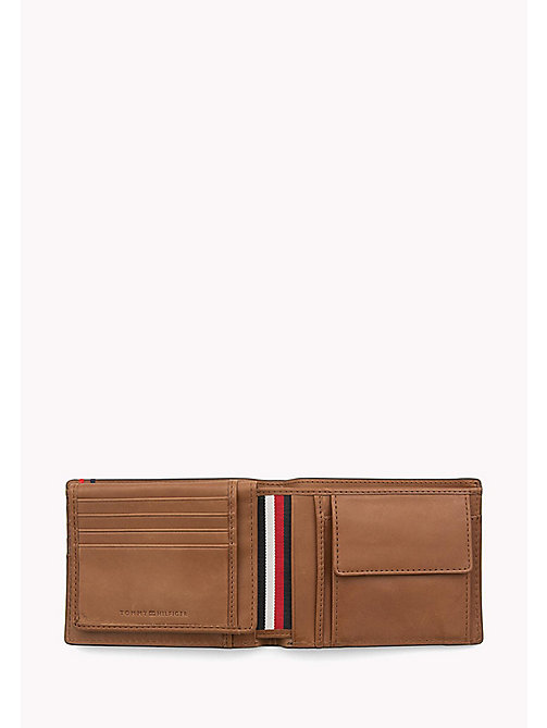 Heritage Leather Wallet - COGNAC - TOMMY HILFIGER Bags & Accessories - detail image 1
