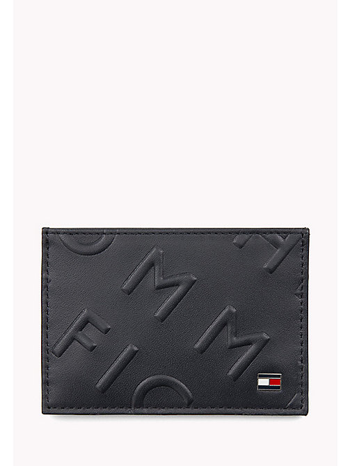 TOMMY HILFIGER Tommy Hilfiger Embossed Cardholder - TOMMY NAVY - TOMMY HILFIGER Bags & Accessories - main image