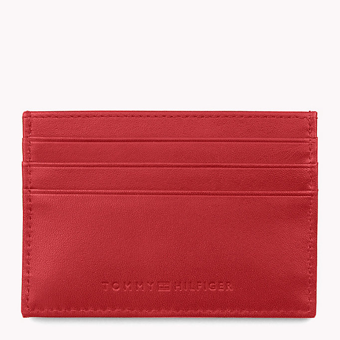 TOMMY HILFIGER Tommy Hilfiger Embossed Cardholder - TOMMY NAVY - TOMMY HILFIGER Bags & Accessories - detail image 1