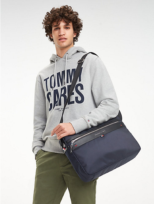 TOMMY HILFIGER Elevated Messenger Bag - TOMMY NAVY - TOMMY HILFIGER Messenger Bags - detail image 1